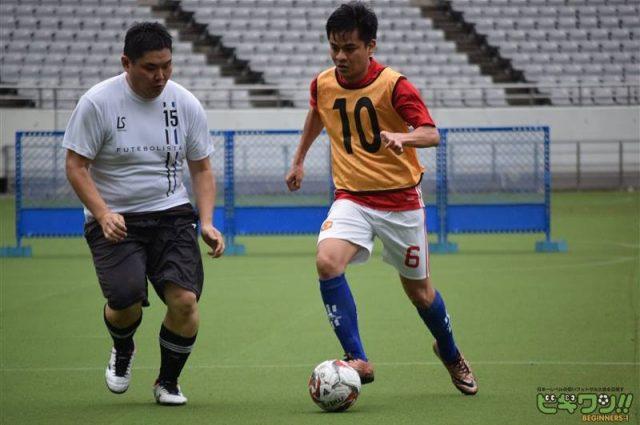 Đi đá giải Futsal cùng với người Nhật