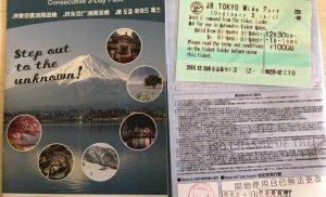Du lịch quanh vùng Kanto 3 ngày bằng Shinkansen với JR Tokyo Wide Pass